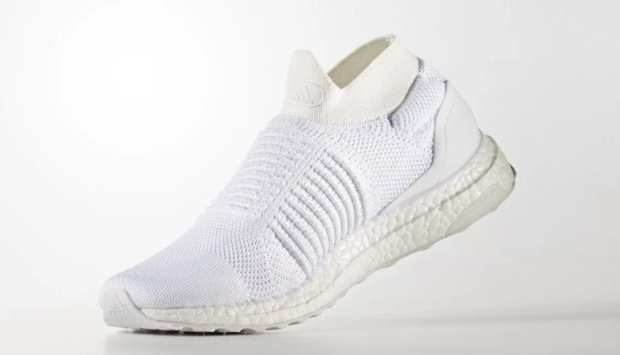"adidas Ultra Boost Uncaged Laceless ""Triple White"""
