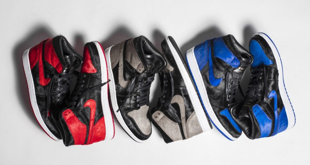 """Pony Hair"" Air Jordan 1 Custom Pack"