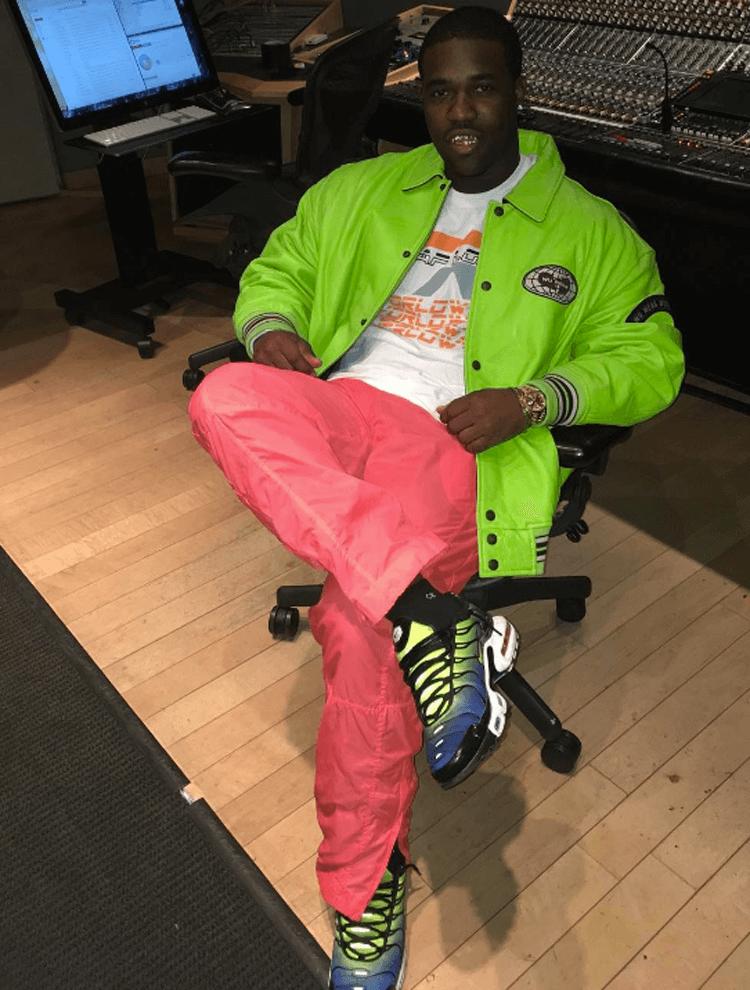A$AP Ferg in the Nike Air Max Plus