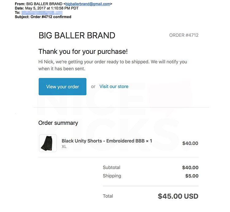 How Many Shoes Did Big Baller Brand Sell