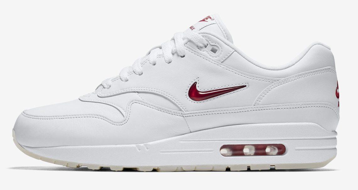 8f13e4a68488d4 The Jewel Swoosh Nike Air Max 1s Drop Next Month