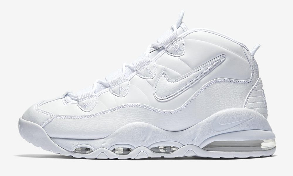 "Nike Air Max Uptempo '95 ""Triple White"""