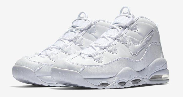 "Nike Air Max Uptempo '95 ""Triple White"""