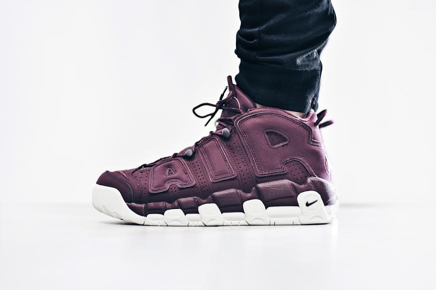 "Nike Air More Uptempo ""Maroon"""