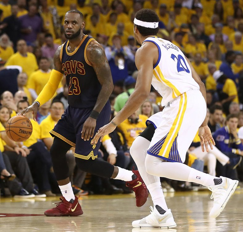 new concept 3cf5f c56c2 Every Nike Sneaker Worn By LeBron James In The NBA Finals ...