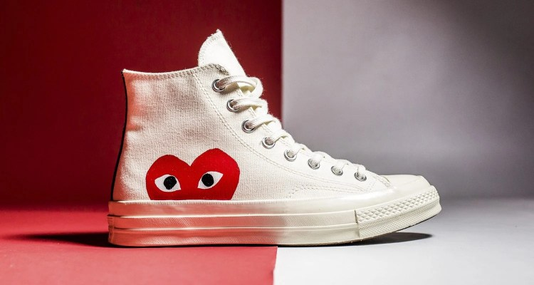 CDG PLAY x Converse Chuck Taylor All Star 70