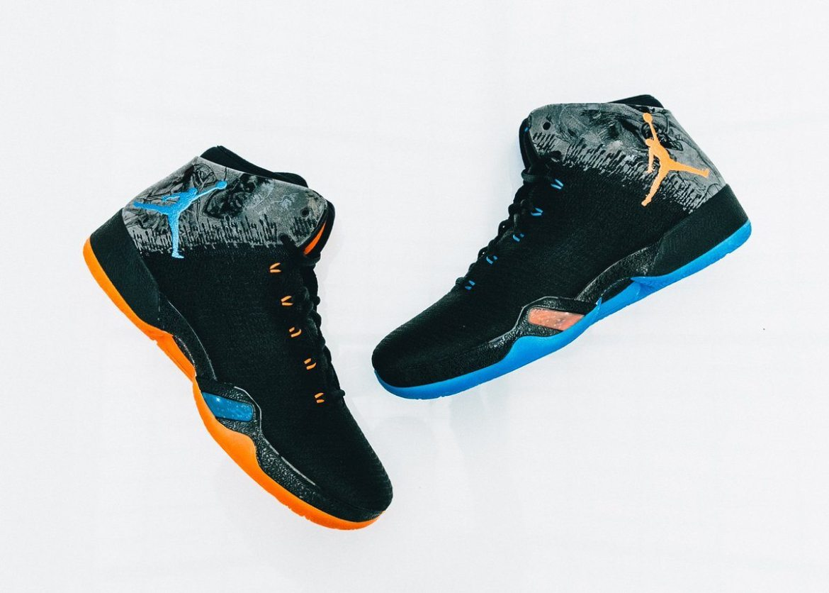 Russell Westbrook's Air Jordan 31/10/10 PE Pack