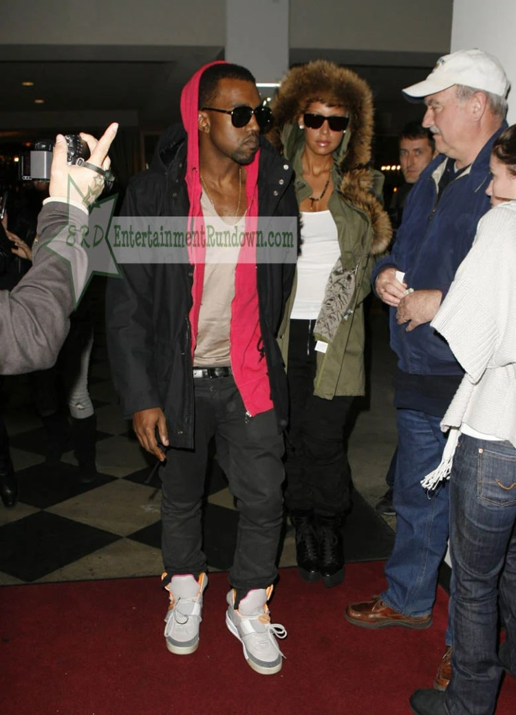 Kanye West in the Nike Air Yeezy 1 Zen