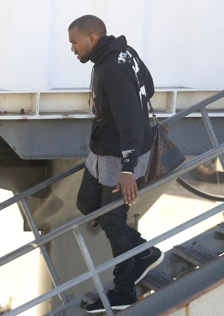 Kanye West in the Nike Free Inneva Woven