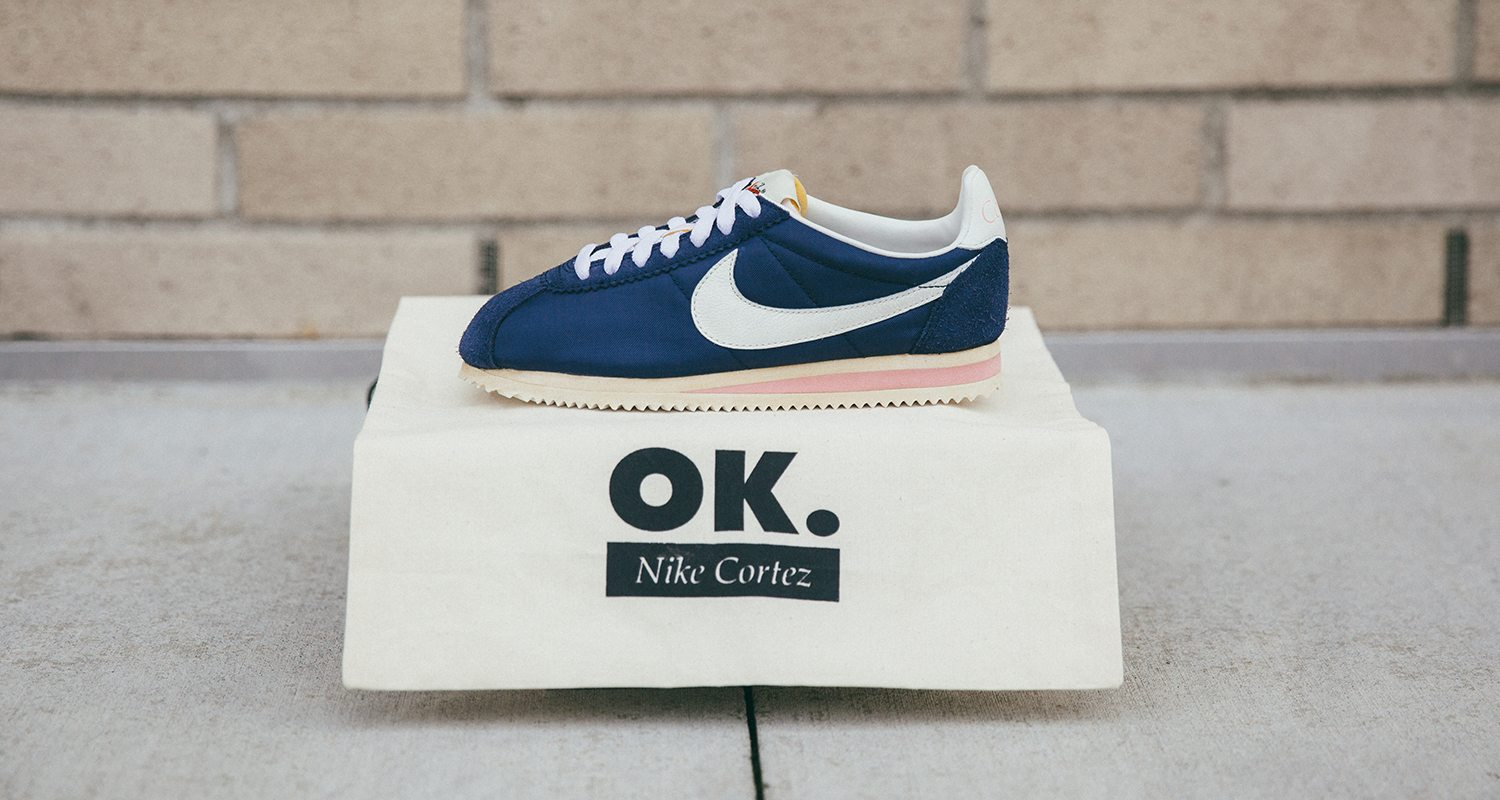5461eb2f714e76 ... cheap nikeid partners with olivia kim to reimagine her favorite cortez  colorway from mid 70s nice ...