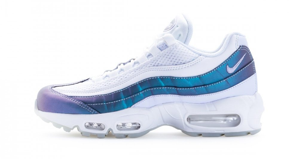 "uk availability c35ff 60abd Nike Air Max 95 ""Glacier Blue""    Available Now"