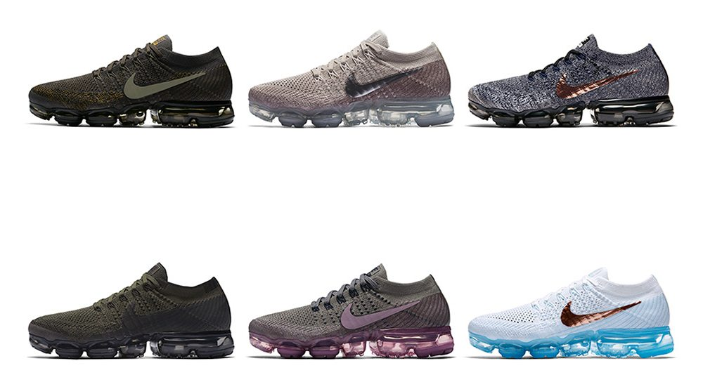 27a7be13a1eb4 Nike Reveals Seven Upcoming Air VaporMax Colorways