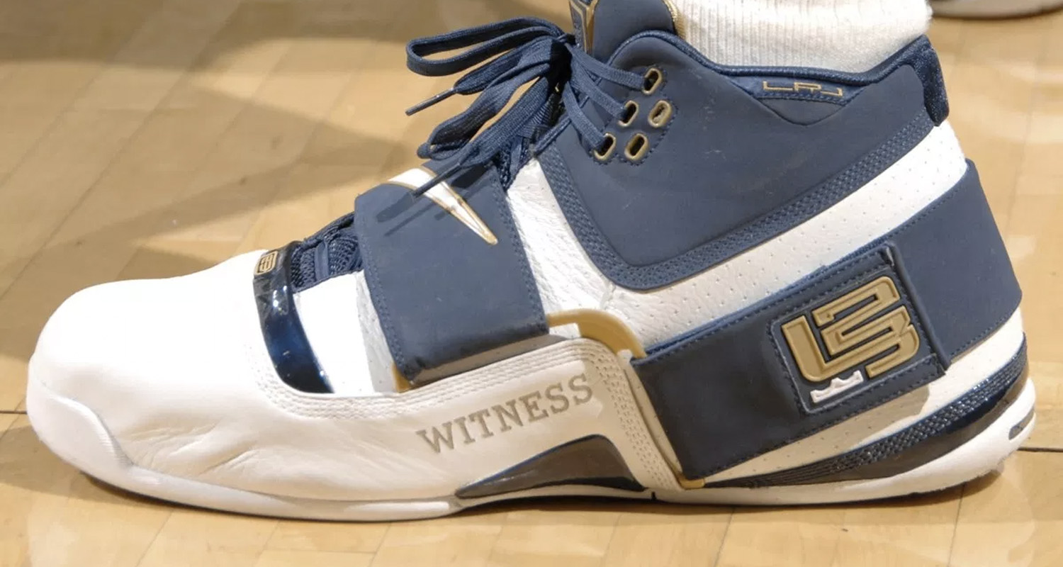 Every Nike Sneaker Worn By LeBron James In The NBA Finals  5c3960c058