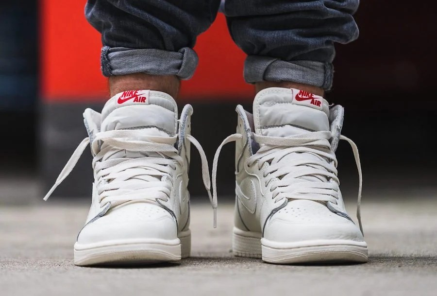 lowest price dc806 6dcc1 Take an On-Foot Look at the Air Jordan 1 Retro High