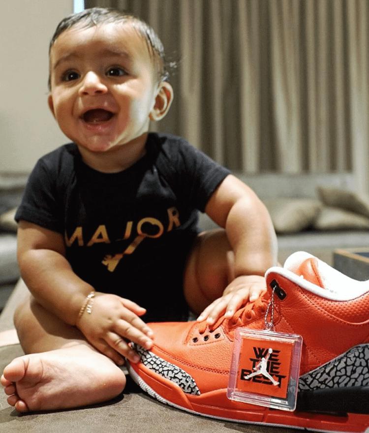 """Asahd Khaled with the Air Jordan 3 """"Grateful"""" PE"""