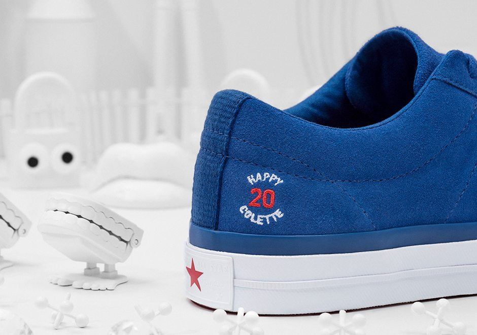 "colette x Club 75 x Converse ""20th Anniversary"" Collection"