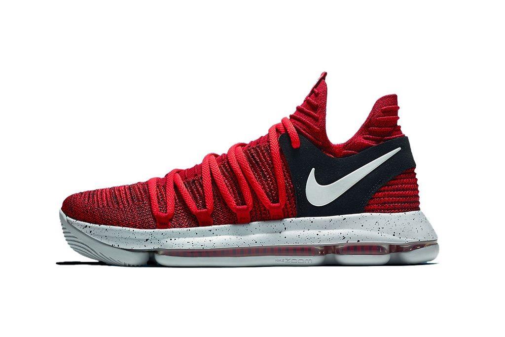 "Nike KD 10 ""University Red"""