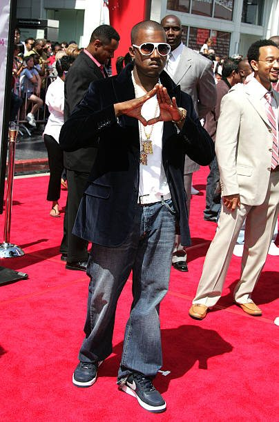 17a5af320f3 ... Kanye West in the Nike Air Force 1 Low ...