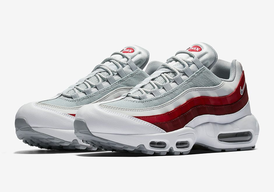 nike air max 95 whiteteam red first look � nice kicks