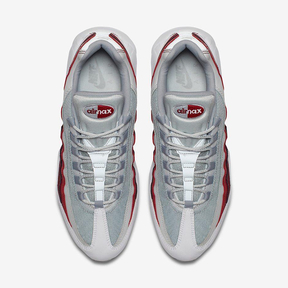 Nike Air Max 95 Equipo Esencial Perro Rojo yau1qzw