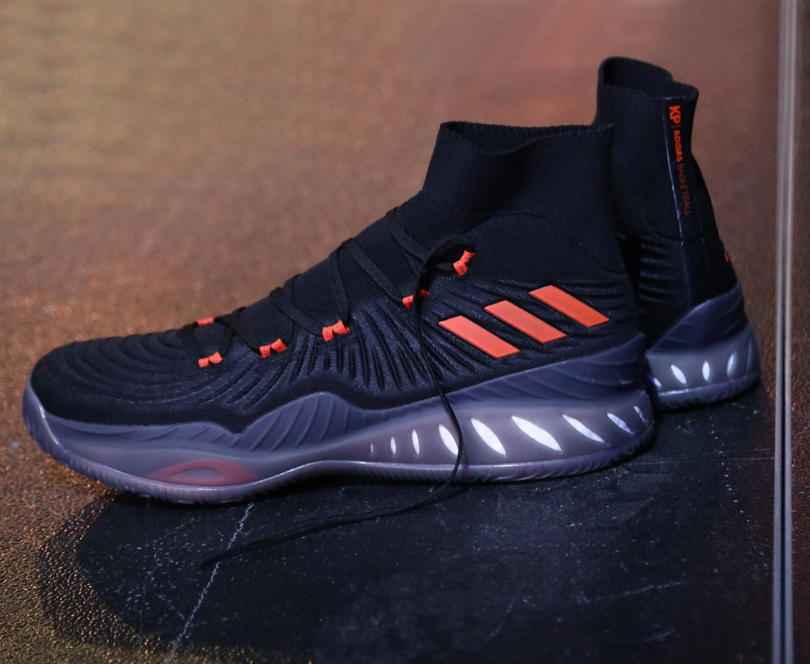 First Look // Kristaps Porzingis' adidas Crazy Explosive PE For Next Season