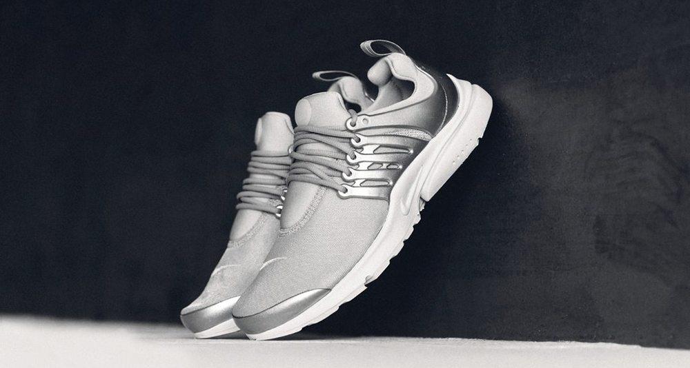Nike Air Presto Metallic Silver/Pure Platinum
