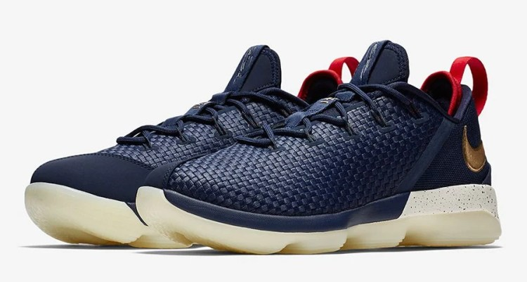 "Nike LeBron 14 Low ""USA"""