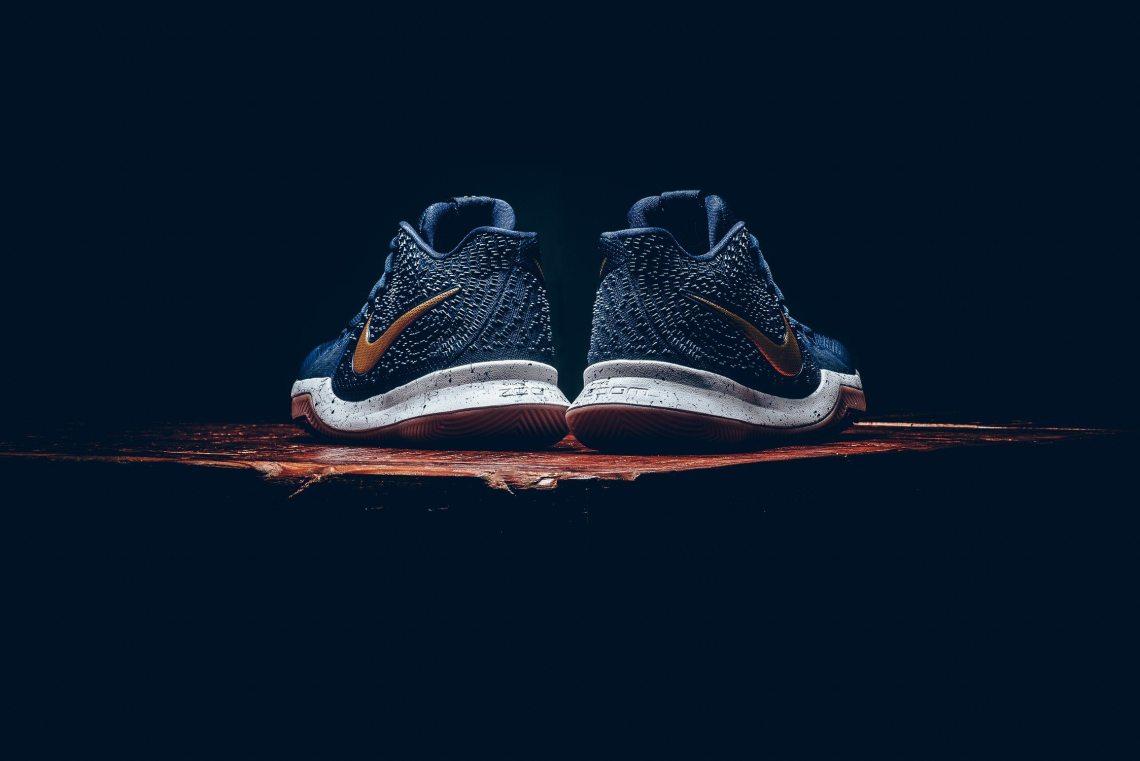 89f3317ebdd Nike Kyrie 3 Obsidian Metallic Gold    Release Date