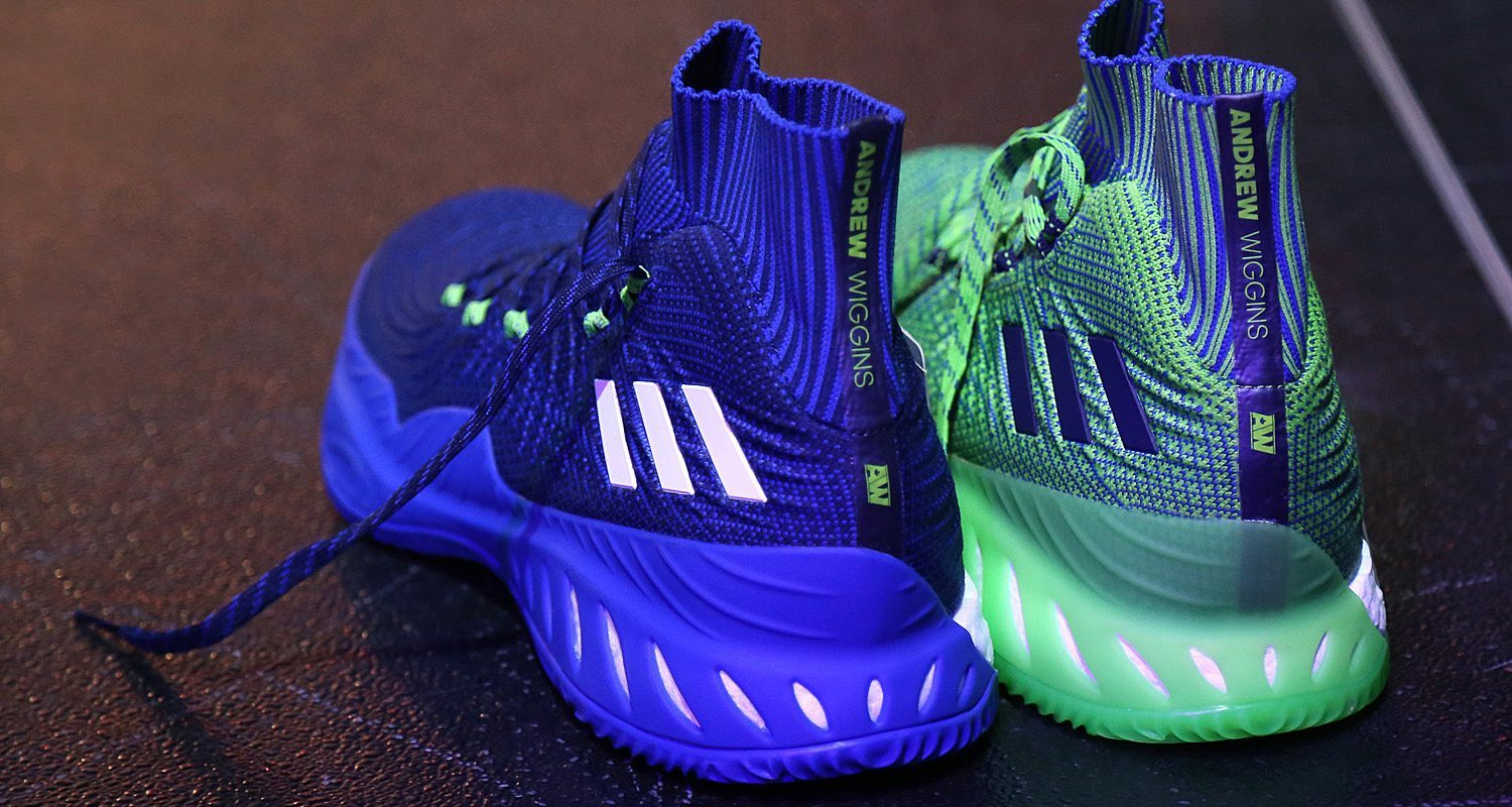 info for 913e7 ad666 First Look  Andrew Wiggins New adidas Crazy Explosive 17