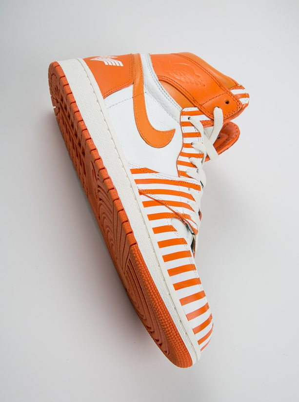 "Air Jordan 1 ""Whataburger"" Custom by Dank and Co."