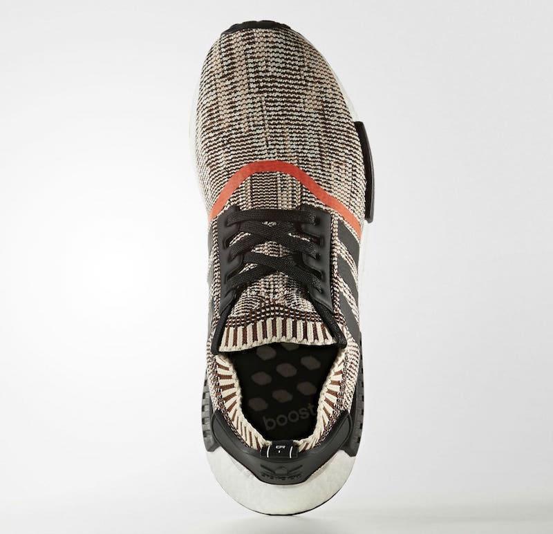 Adidas NMD Runner PK Oreo Glitch Camo Black White Primeknit