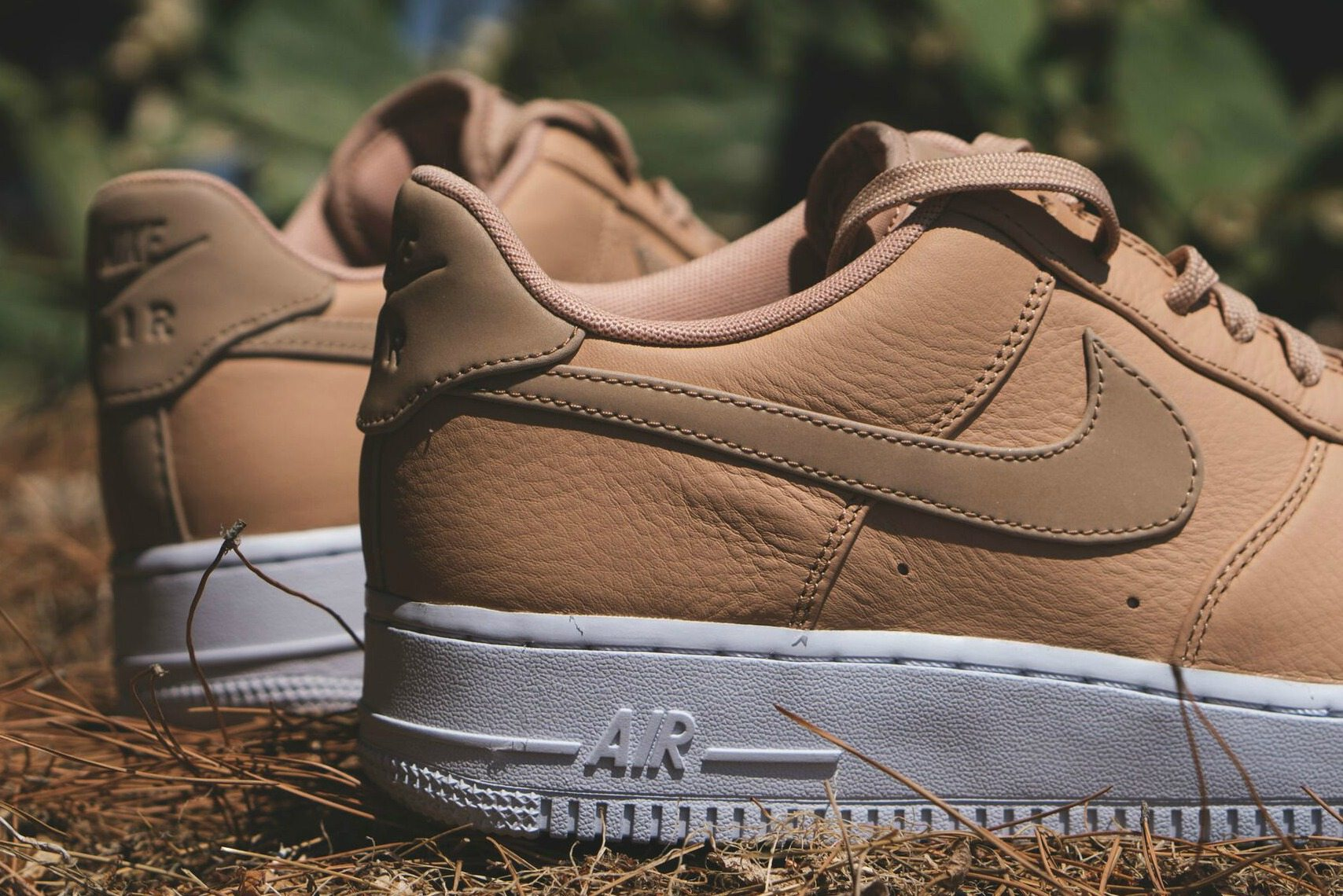 nike air force 1 premium 07 brown and flannel fabric by the yard