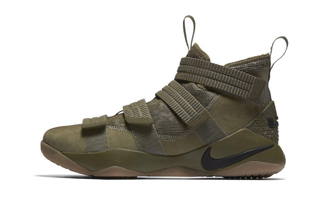 "Nike LeBron Soldier 11 ""Olive"""
