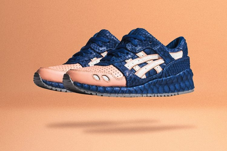 "ASICS GEL-Lyte III ""Salmon Toe"" x The Shoe Surgeon"