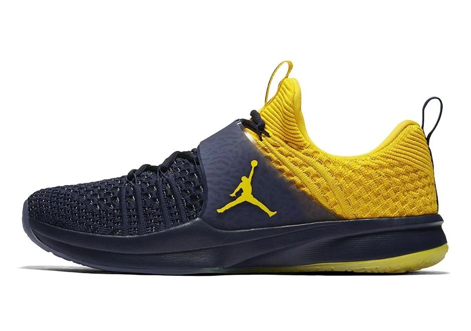 "Jordan Trainer 2 Flyknit ""Michigan"""