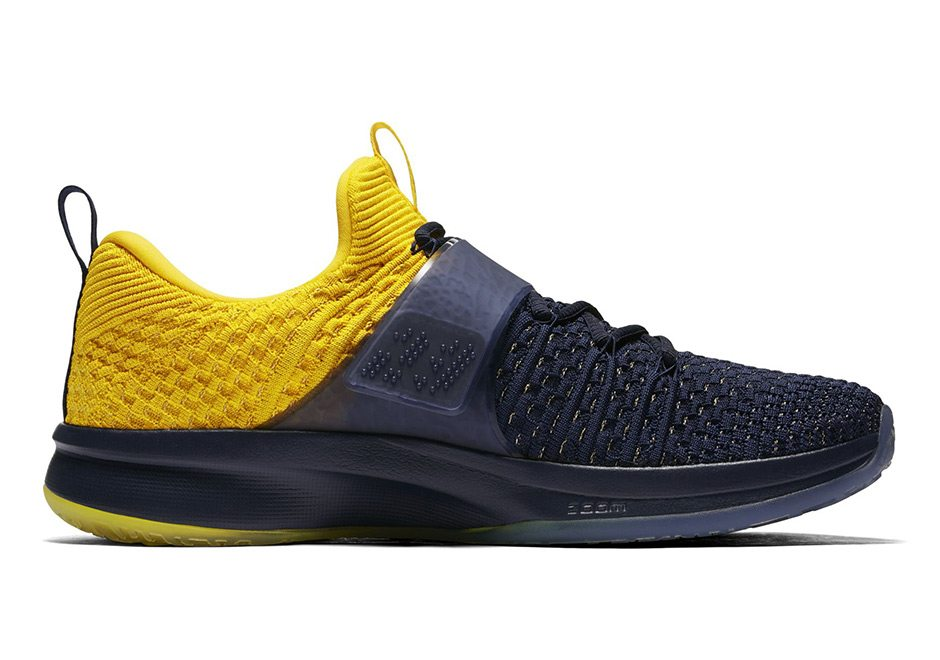0be98b2018f3 The New Jordan Trainer 2 Flyknit Gets a Michigan Makeover