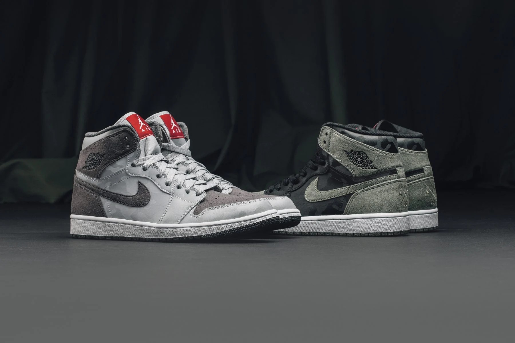 "... Air Jordan 1 Retro Hi ""Camo"" Pack ..."