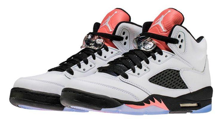 "Air Jordan 5 ""Sunblush"""