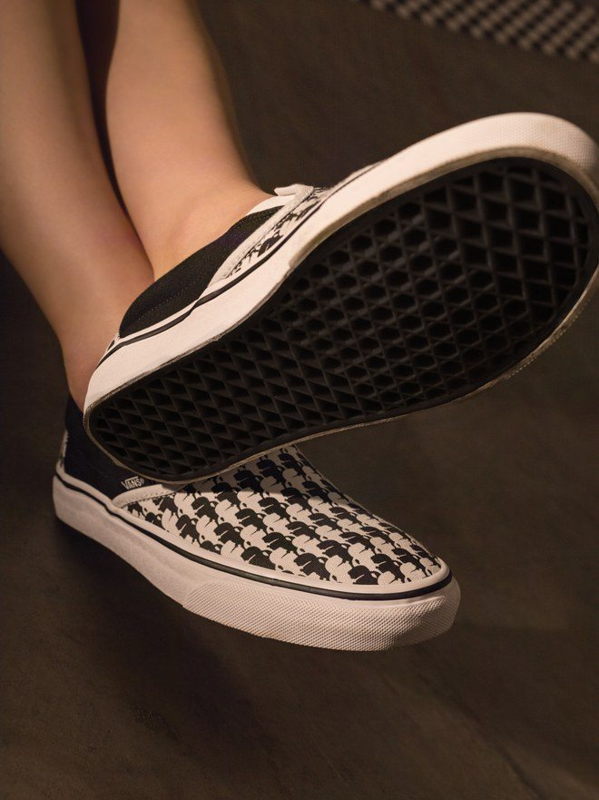Karl Lagerfield x Vans Slip-On