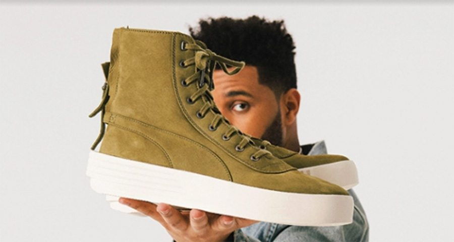 """The Weeknd x PUMA Parallels """"Olive"""""""