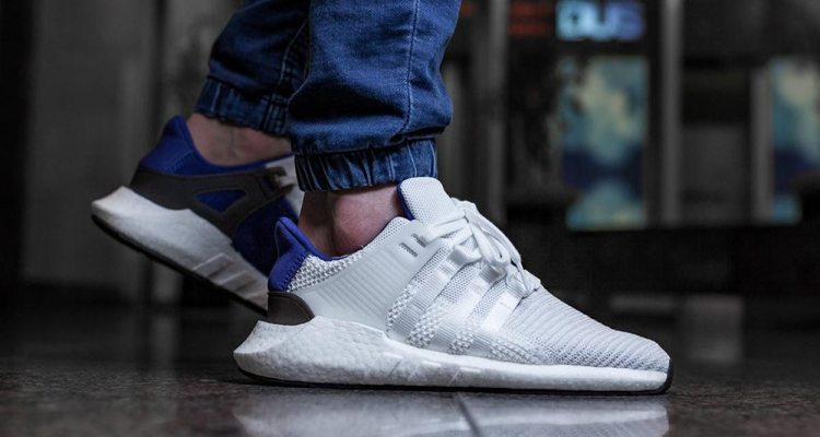 adidas EQT Support 93/17 White/Royal Blue