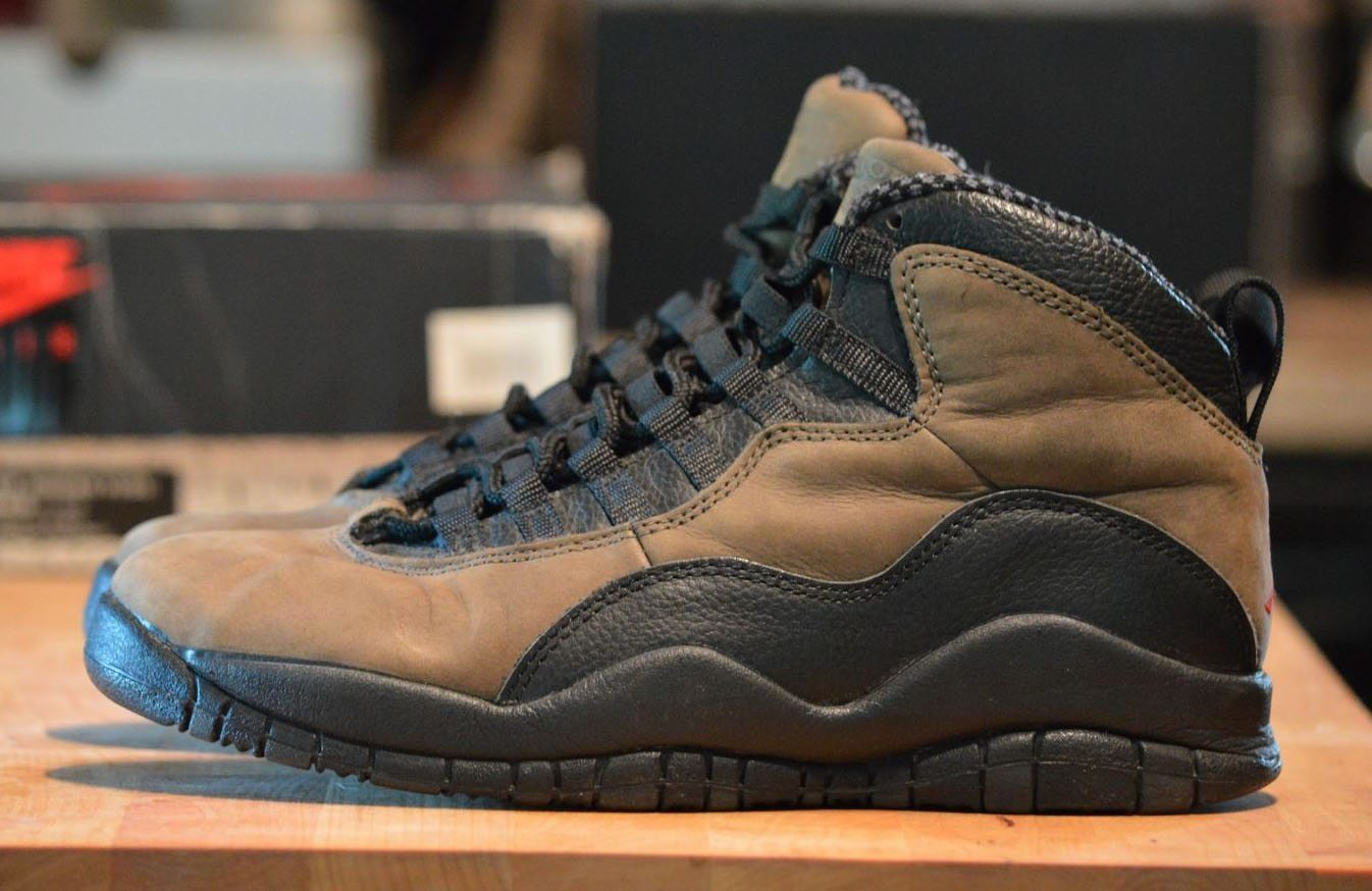 "Air Jordan 10 ""Dark Shadow"" ..."