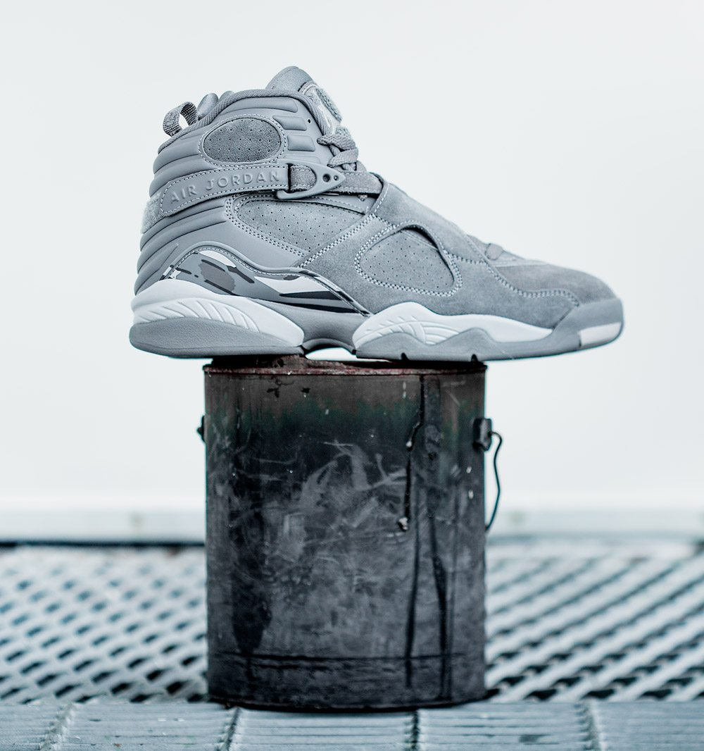 "Air Jordan 8 ""Cool Grey"""