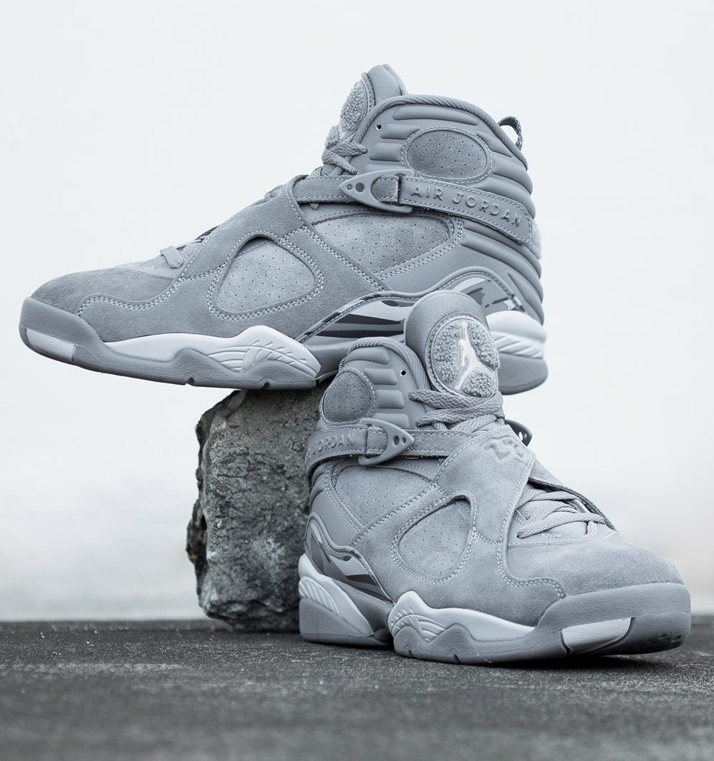 jordan 8 cool grey. air jordan 8 \u201ccool grey\u201d cool grey l