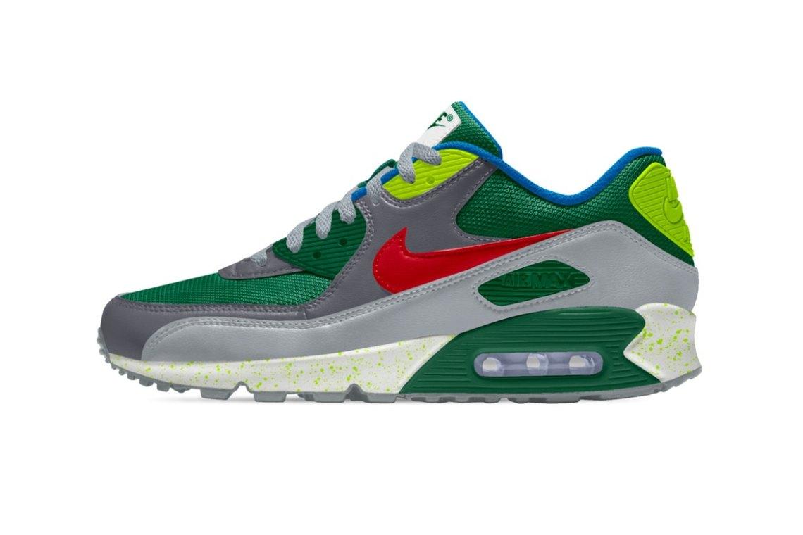 "John Mayer x Nike Air Max 90 ""Pickle Rick"""