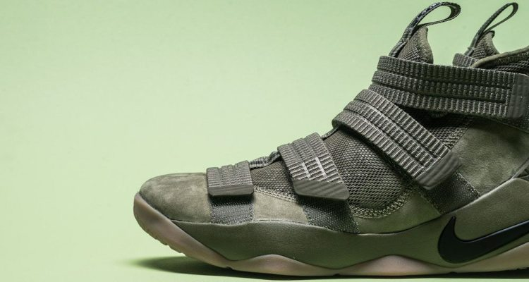 """c0a5e54290 Nike LeBron Soldier 11 """"Olive"""" // Available Now"""