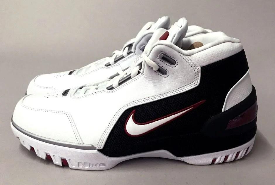 Nike Air Zoom Generation White/Black Retro Coming Soon Nice Kicks