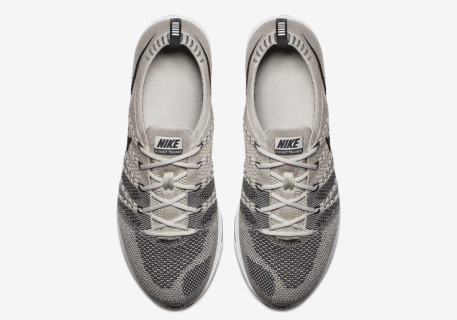 new concept eb72c 67775 ... usa nike flyknit trainer pale grey black white 9eaa6 52c66