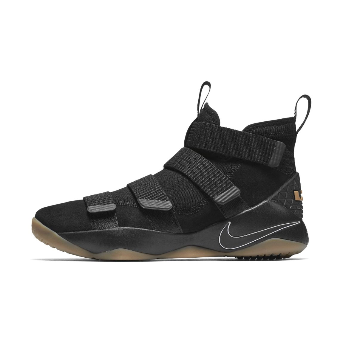 55c43711ab59 Nike LeBron Soldier 11 Black Gum    Preview