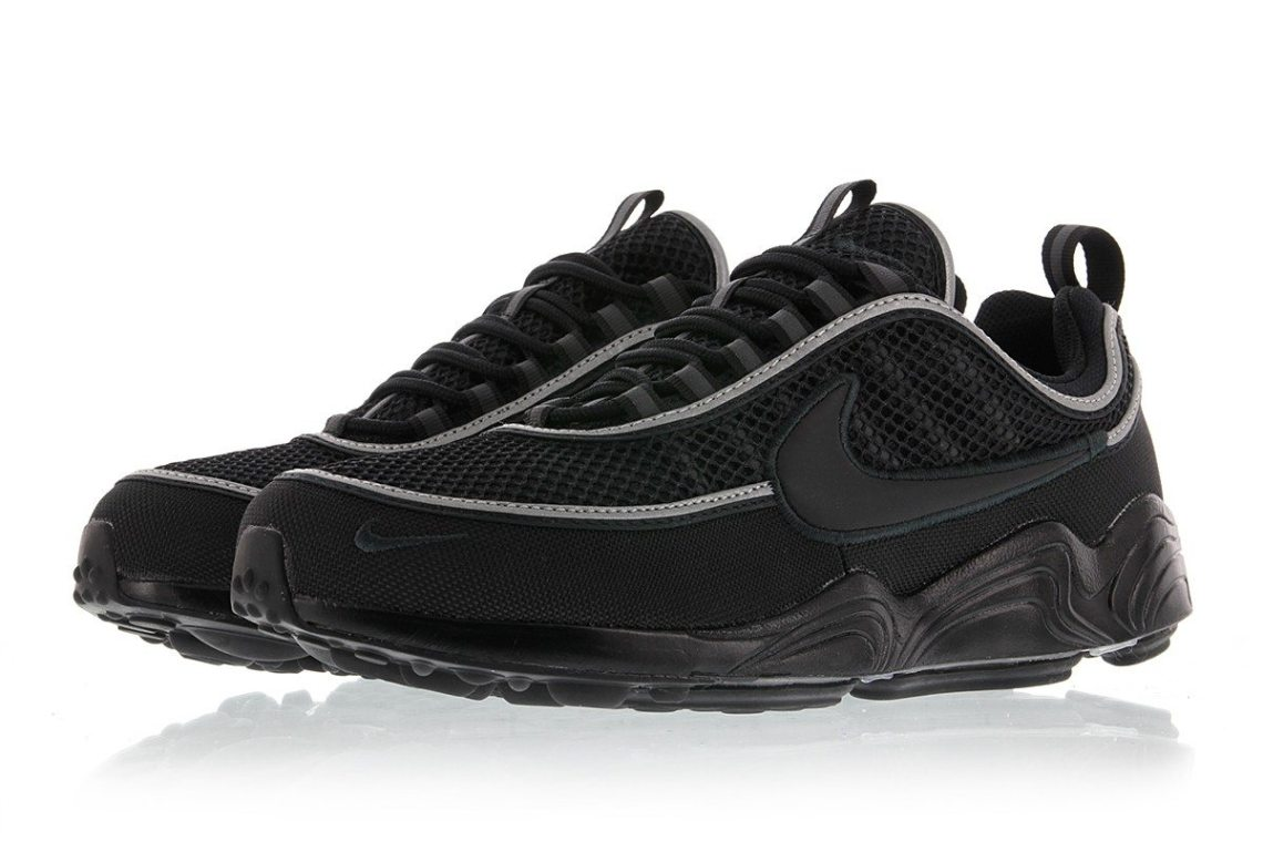 nike air zoom spiridon 39 16 black anthracite available now nice kicks. Black Bedroom Furniture Sets. Home Design Ideas